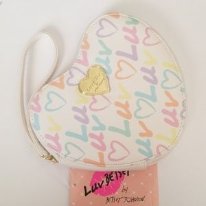Betsey Johnson Luv Coin Purse